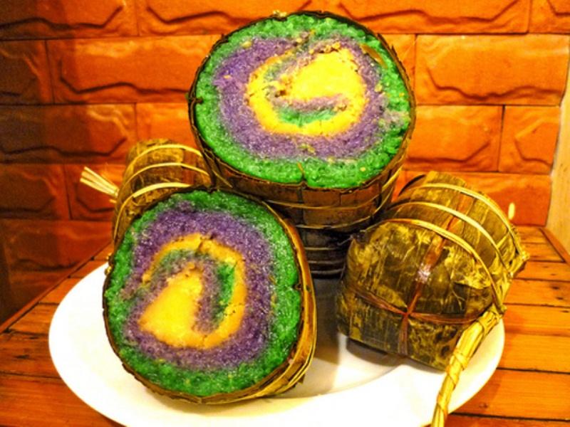 Cách làm Bánh tét 3 màu chuẩn hương vị truyền thống | NETSPACE
